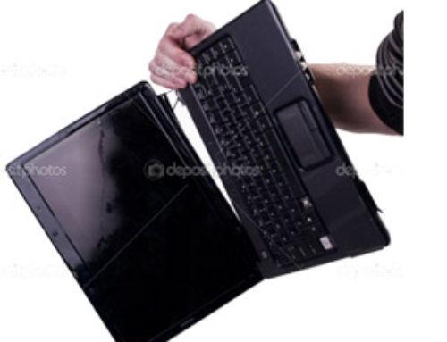Ремонт на ударен лаптоп